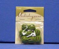 Artistry Wear Suede Beads - Green