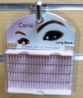 Clarie Individual Eyelashes Long: Black