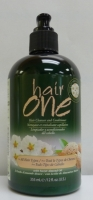 Hair One Hair Cleanser & Conditioner w/ Almond Oil