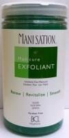 Mani Station Sugar, Aloe Vera, Lemon Hand Exfoliant