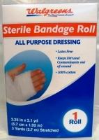 Walgreens Sterile Bandage Roll - 2.25in x 2.1yd