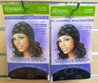 Annie Spandex Cap w/ Pattern asst.