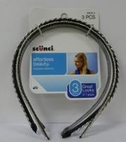 Scunci 3 PK Fashion Headbands