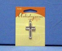 Artistry Wear Metal Pendant - Silver Cross