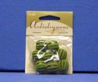 Artistry Wear Suede Beads - Green