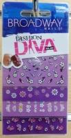 Brodway Diva Nail Art Stickers BNA08