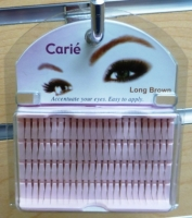 CLaire Individual Lashes Long: Black