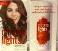 Chromalights Temporary Hair Color Spray Red