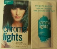 Chromalights Temporary Hair Color Spray Teal