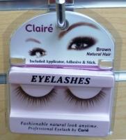 Claire Brown Eyelashes w/ Adhisive Kit