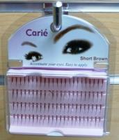 Claire Individual Eyelashes Short : Brown