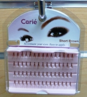 Claire Individual Lashes Short : Brown