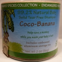 Coco-Banana Solid Tear Free Shampoo 2oz #011943