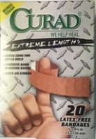 Curad Extreme Hold 20 Latex Free Bandages
