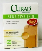 Curad Sensitive Skin Bandages 100 ct