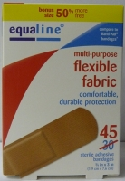 Equal 45 count Flexible Fabric Bandage  #EQU45245P