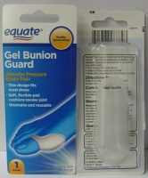 Equate Gel Bunion Guard #15625-000