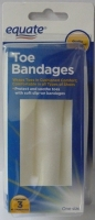 Equate Toe Bandages #15623-000