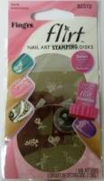 Fing'rs Flirt Nail Art Stamp Disks #32372