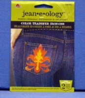 Jeaneology Color Transfer - Distressed Flames