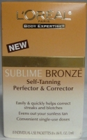 L'OREAL Sublime Bronze Self Tanning Perfector & Corrector
