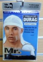 Mr Durag PremiumDuRag: White
