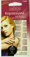 Nailene Designer Collection  Expressions Nail Bling 3D  #71662