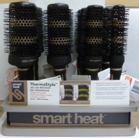 Smart Heat Thermal Brush Disply