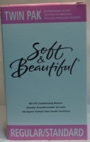 Soft & Beautiful Regular Relaxer Kit Twin Pack