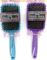 Swissco Paddle Brush Rubberized Handle