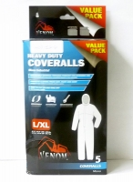 Venom Heavy Duty Coverall 5 Pack L/XL