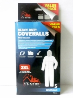 Venom Heavy Duty Coverall 5 Pack 2XL