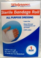 Walgreens Sterile Bandage Roll - 2.25in x 2.1yd